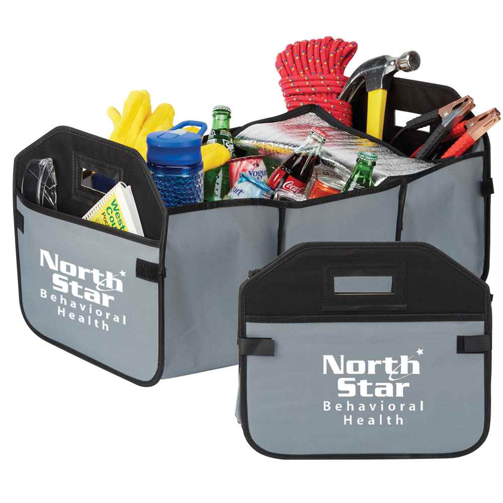 2-In-1 Trunk Organizer & Cooler - Personalization Available