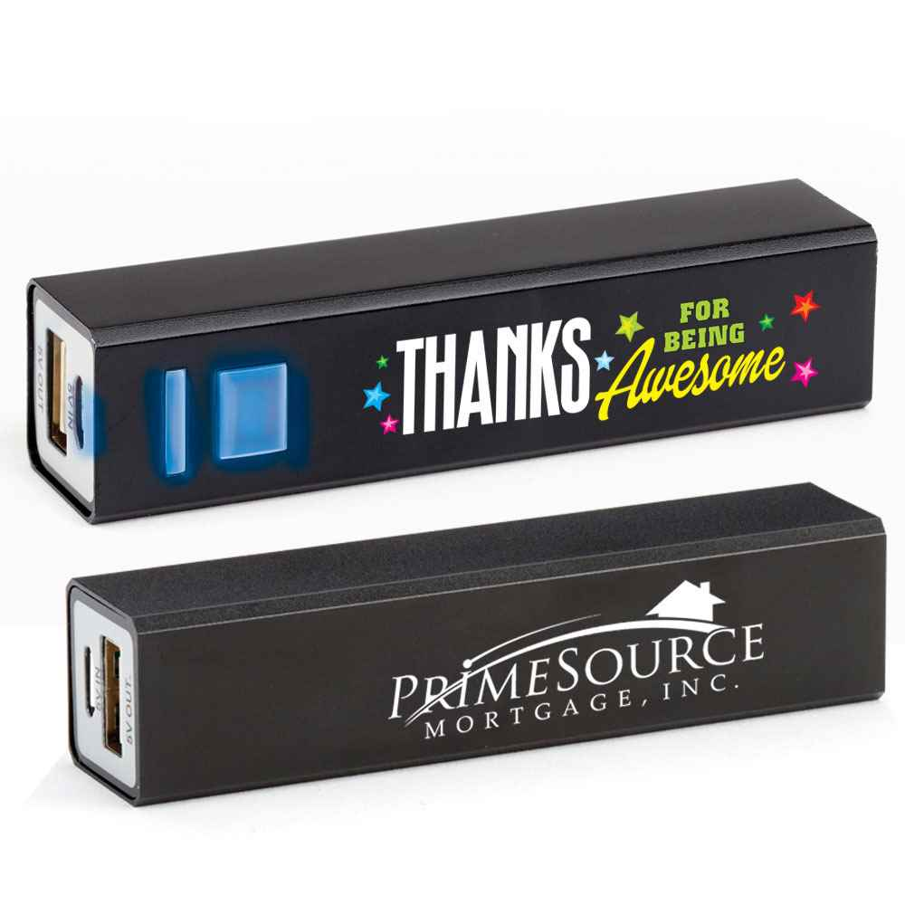 Thanks For Being Awesome Positivity Metal Power Bank with Personalization