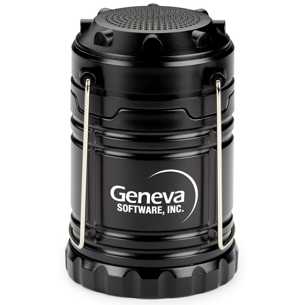Indoor/Outdoor Retractable Lantern With Bluetooth® Speaker - Personalization Available