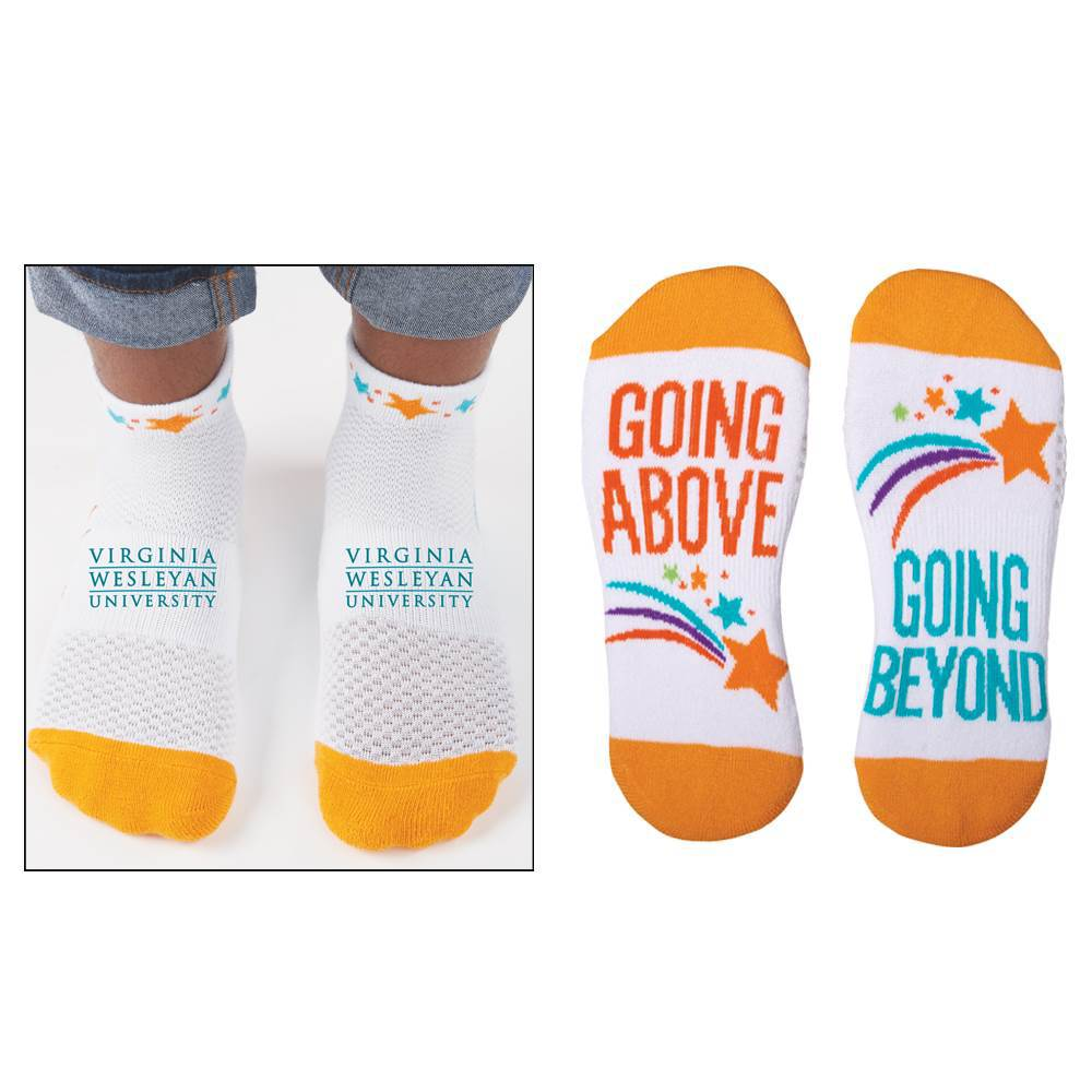 Going Above, Going Beyond Personalized Positivity Socks