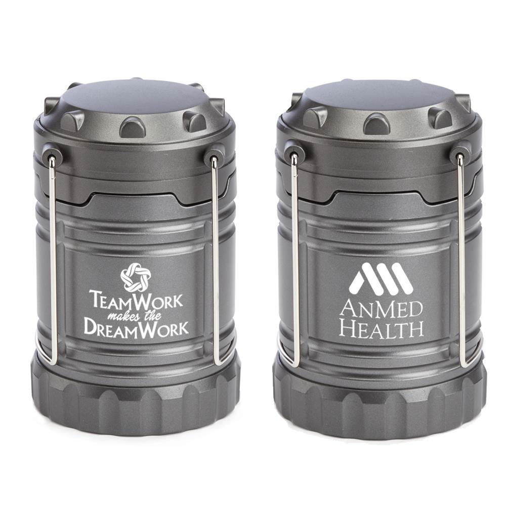 Teamwork Makes The Dreamwork Positivity Indoor/Outdoor Retractable LED Lantern With Magnetic Base Plus Personalization
