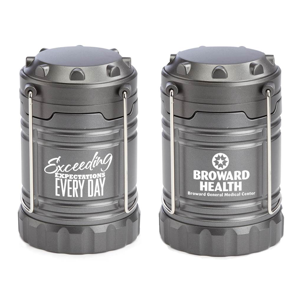 Exceeding Expectations Every Day Positivity Indoor/Outdoor Retractable LED Lantern With Magnetic Base Plus Personalization