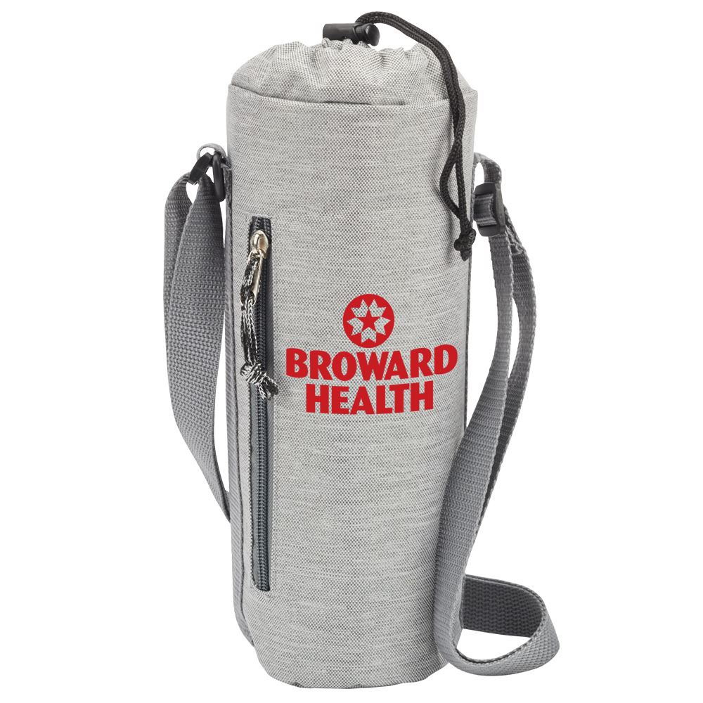 Insulated Bottle Cooler Sling - One-Color Personalization Available