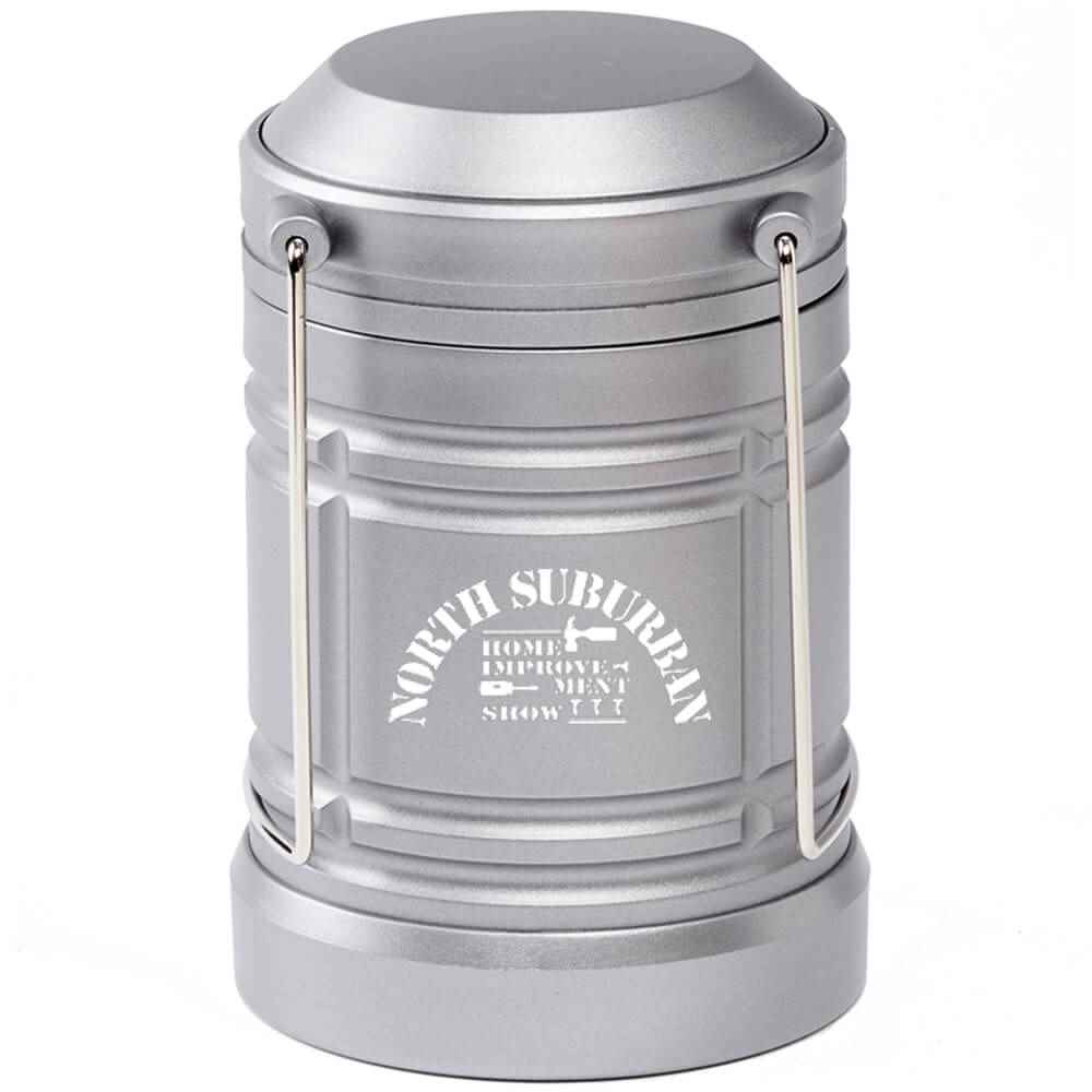 Indoor/Outdoor Retractable LED Lantern - Personalization Available