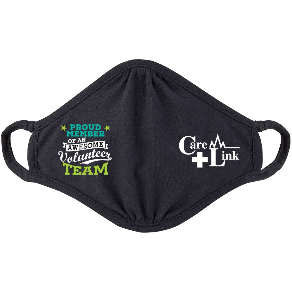 Proud Member of an Awesome Volunteer Team 2-Ply 100% Cotton Face Mask - Personalization Available