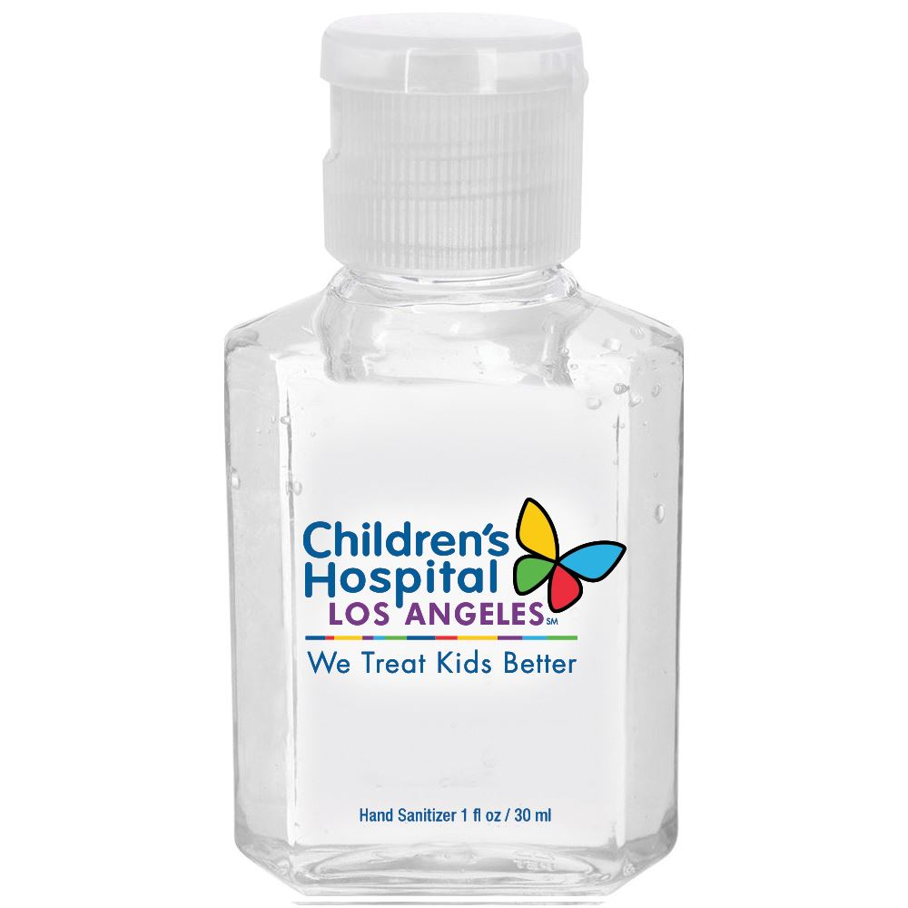 1-Oz. Gel Hand Sanitizer Gel - Full-Color Personalization Available