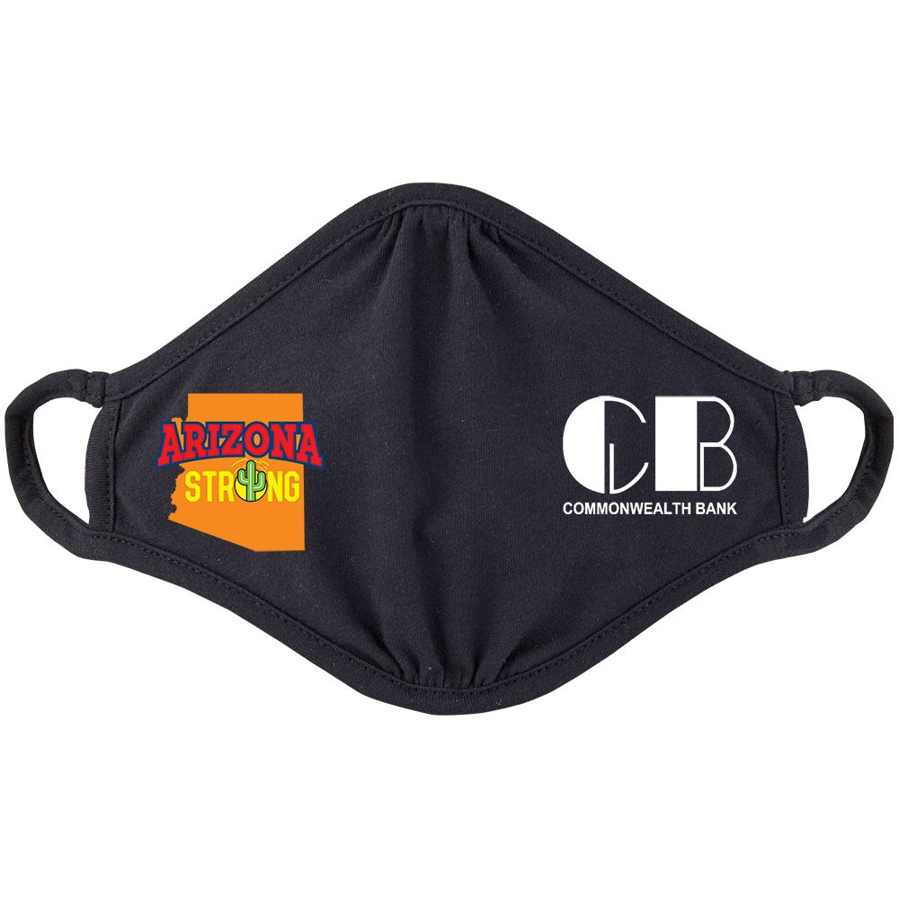 Arizona Strong 2-Ply 100% Cotton Mask - Personalization Available