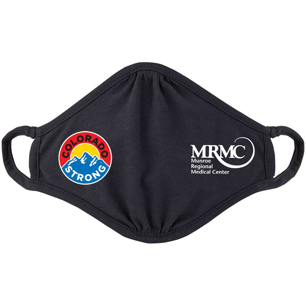 Colorado Strong 2-Ply 100% Cotton Mask - Personalization Available