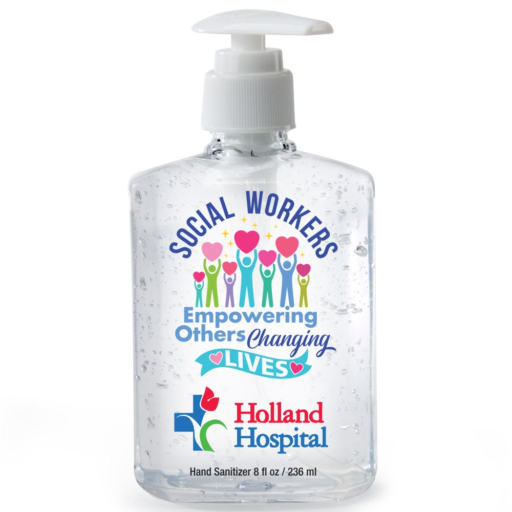 Social Workers- 8-Oz. Hand Sanitizer