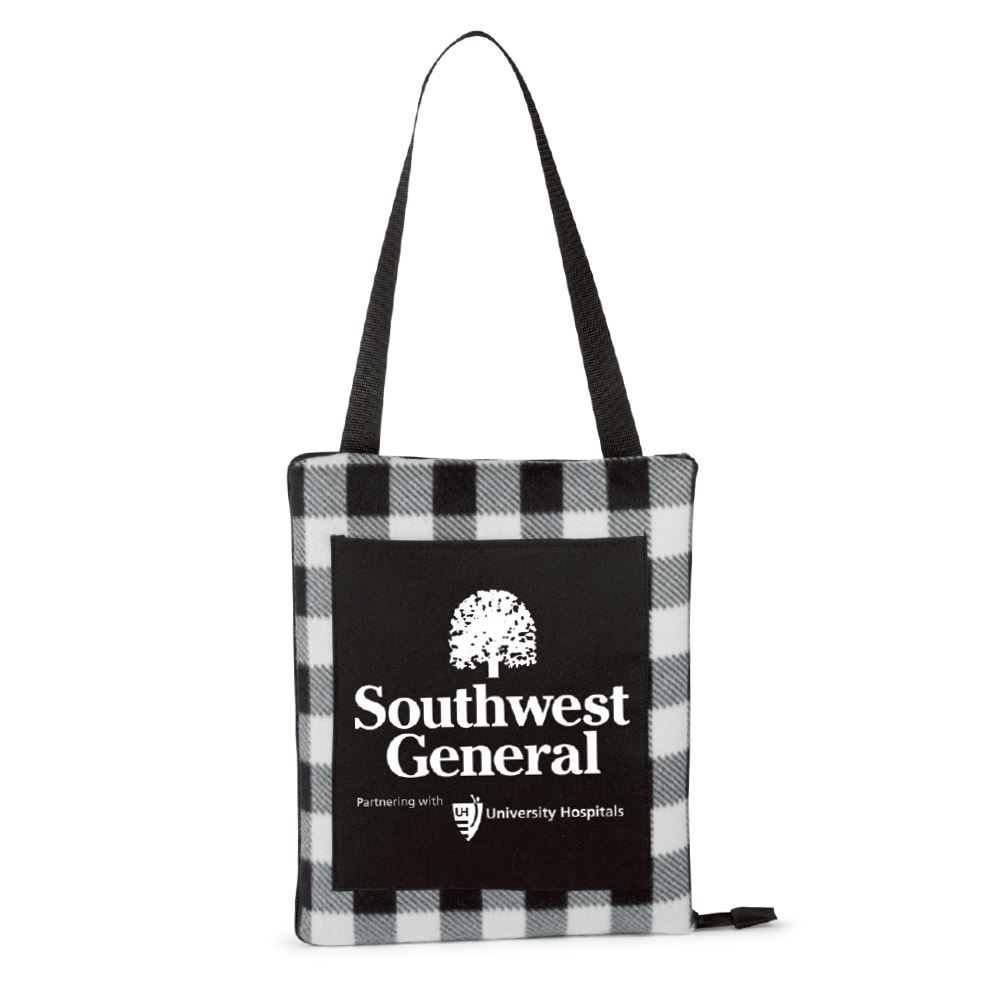 2-In-1 Picnic Blanket & Cushion - Personalization Available