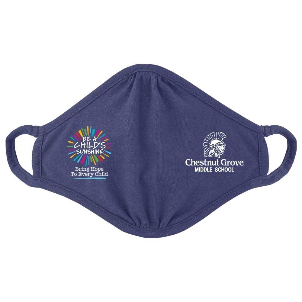 Be A Child's Sunshine 2-Ply 100% Cotton Mask