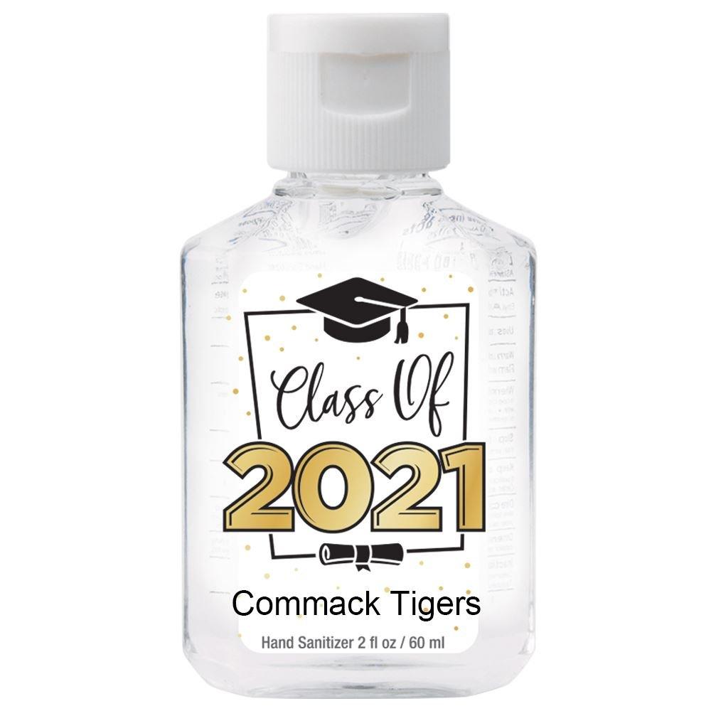 Class Of 2021 2-Oz. Hand Sanitizer