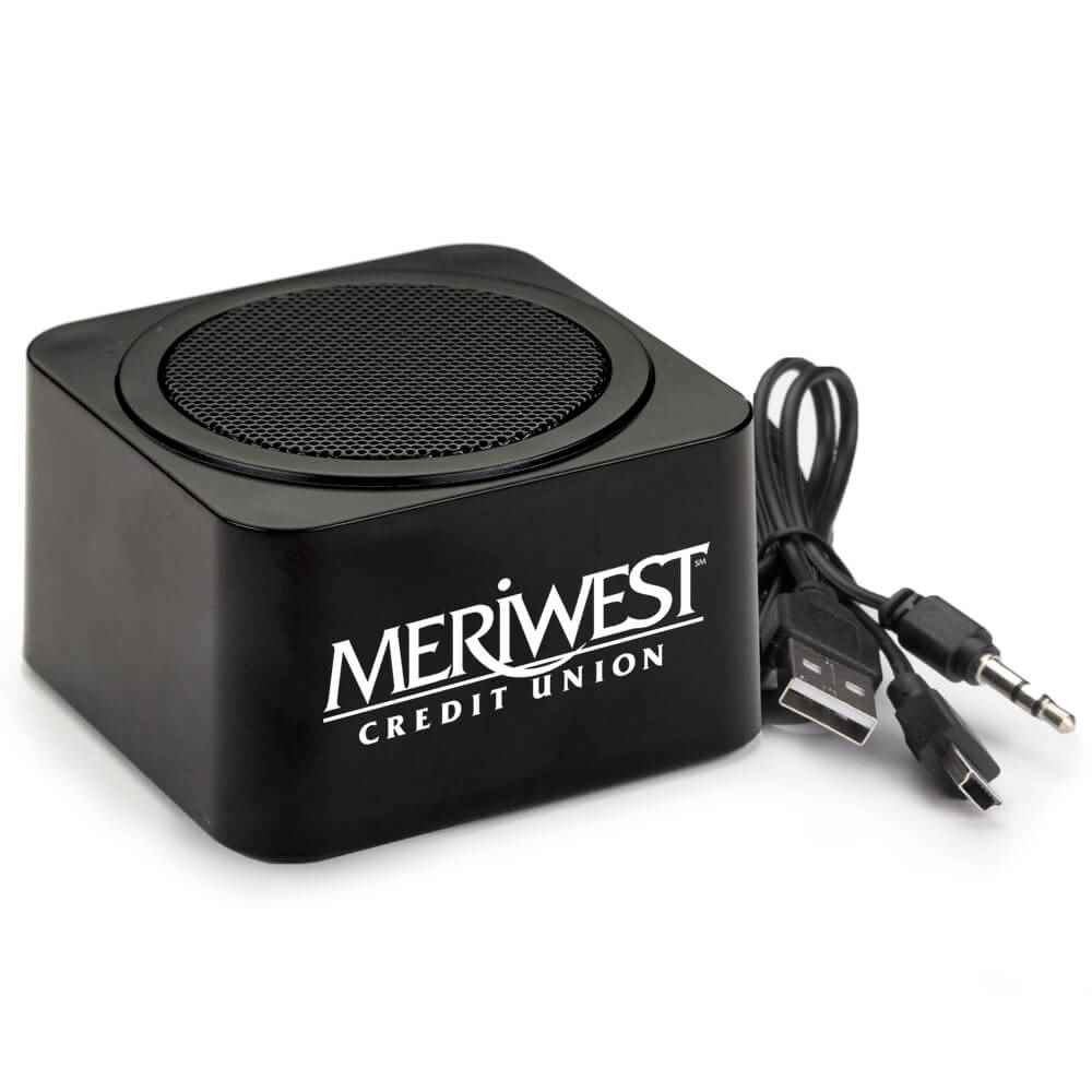 Black Bluetooth® Speaker - Personalization Available