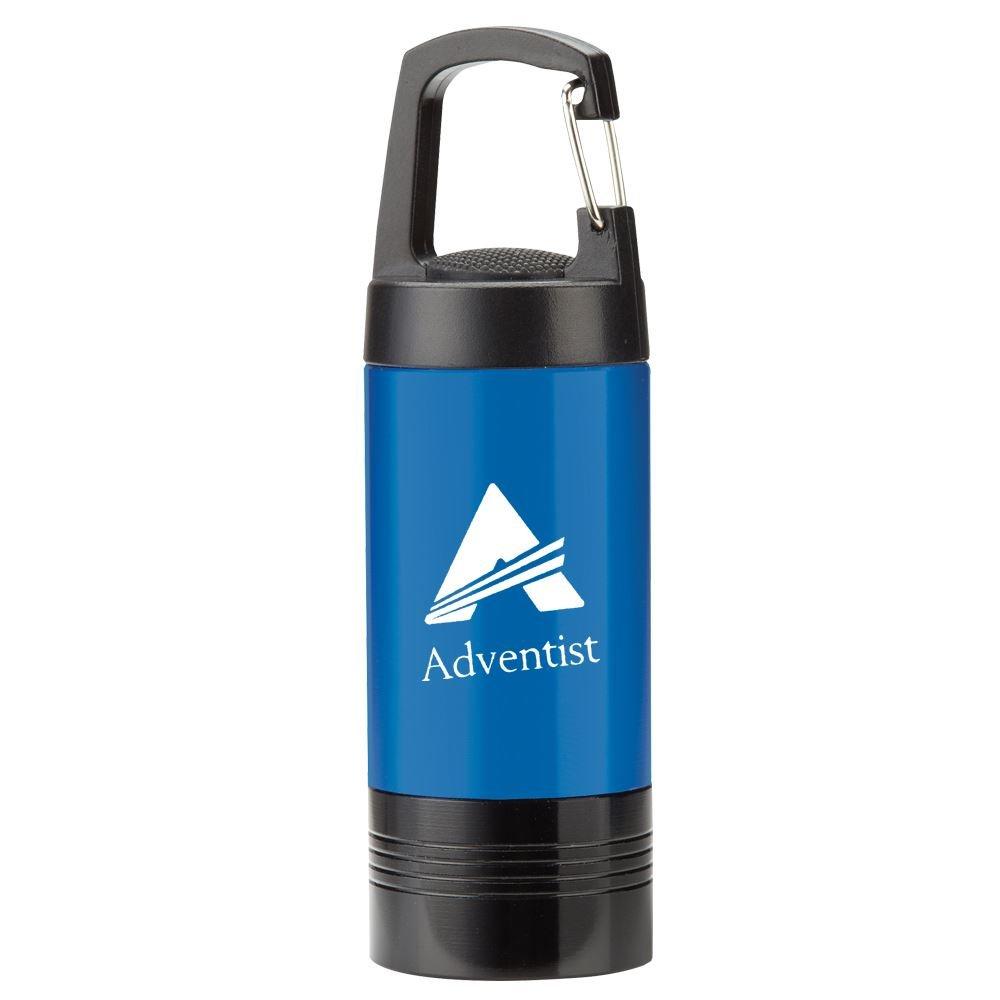 Blue Ridgewood LED Carabiner Flashlight - Personalization Available