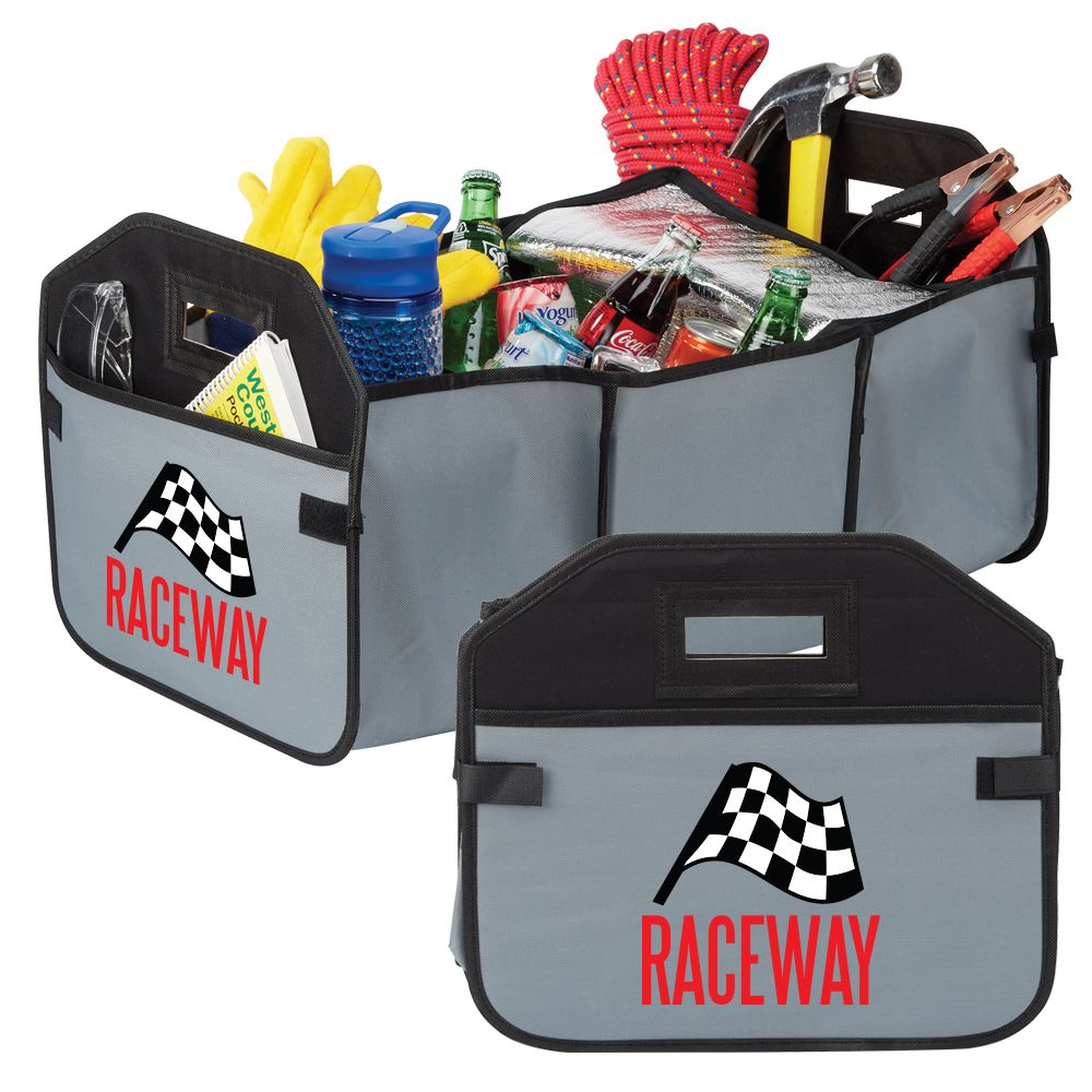 2-In-1 Trunk Organizer & Cooler - Full Color Personalization Available