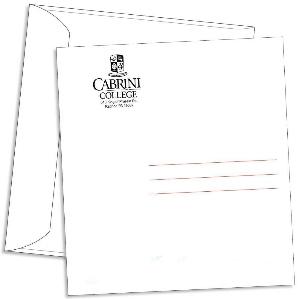 Personalized Wall Calendar Envelopes