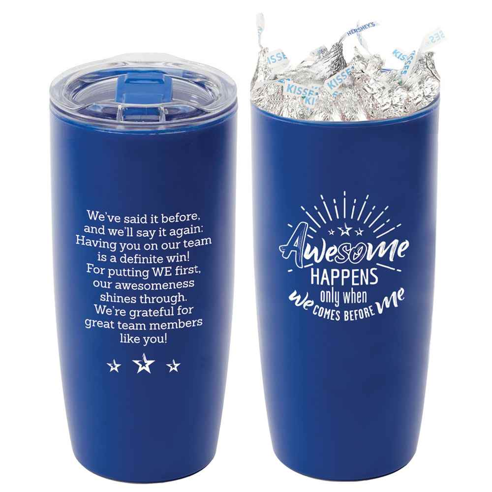 Sierra Insulated Acrylic Tumbler 19-Oz. with Hershey's® Kisses®