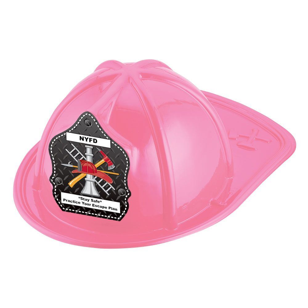 Firefighter Hat (Pink) With Personalization