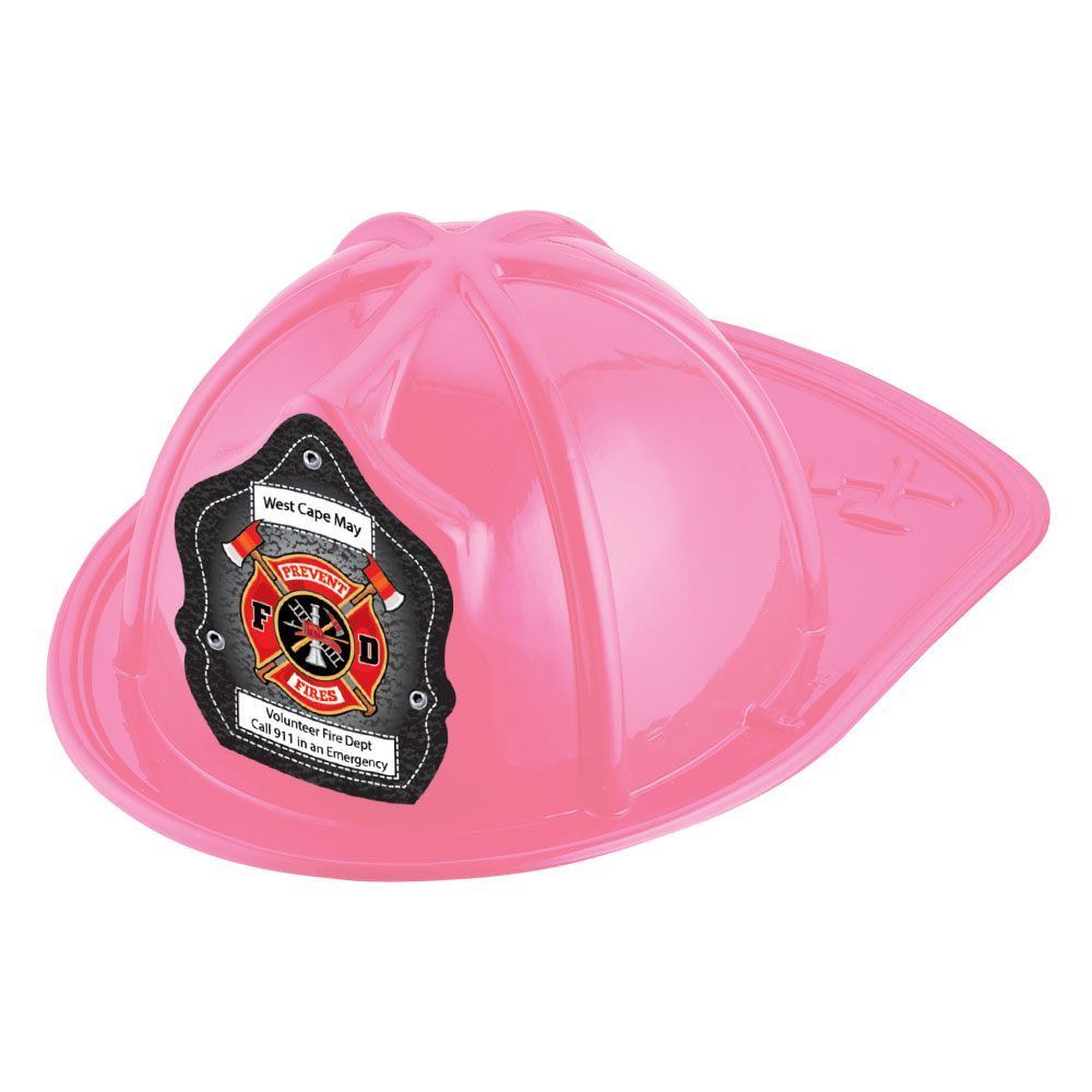 Prevent Fires F D Hat (Pink) With Personalization