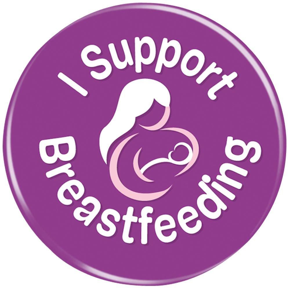 I Support Breastfeeding Button