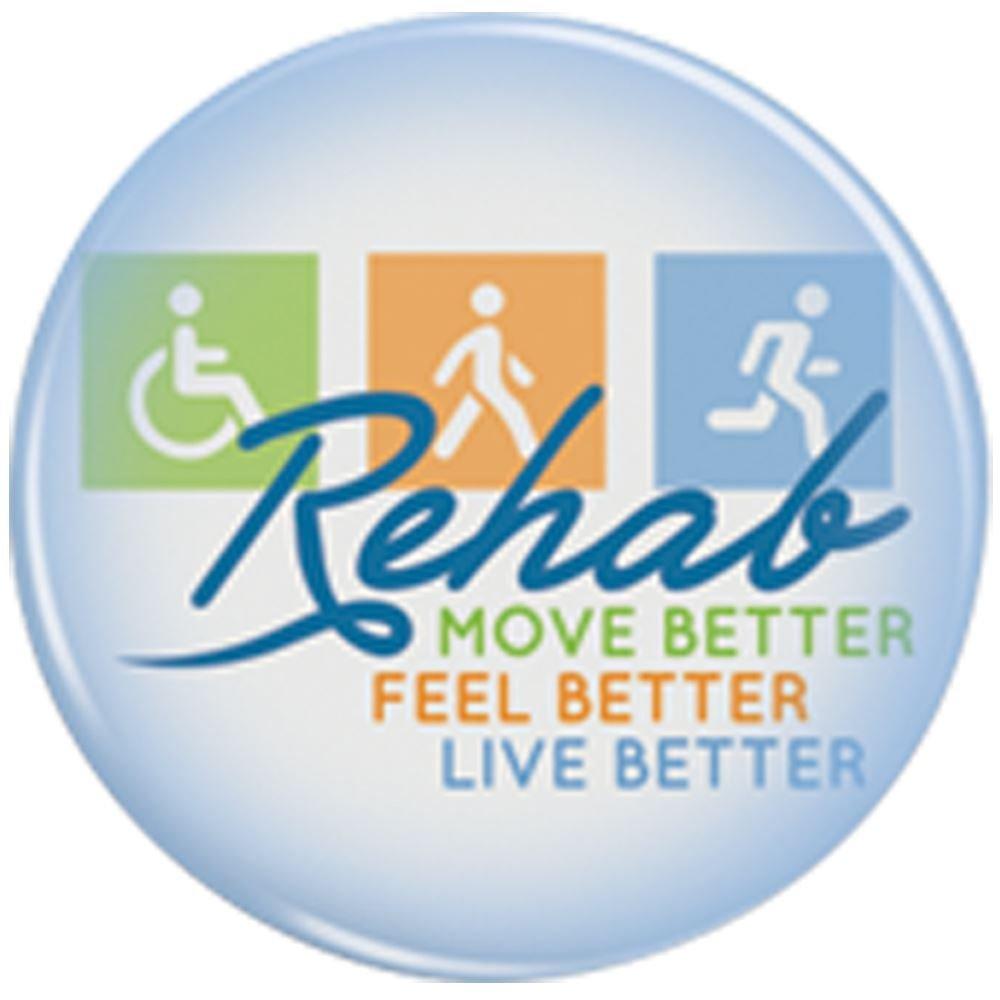 Rehab: Move Better, Feel Better, Live Better Buttons