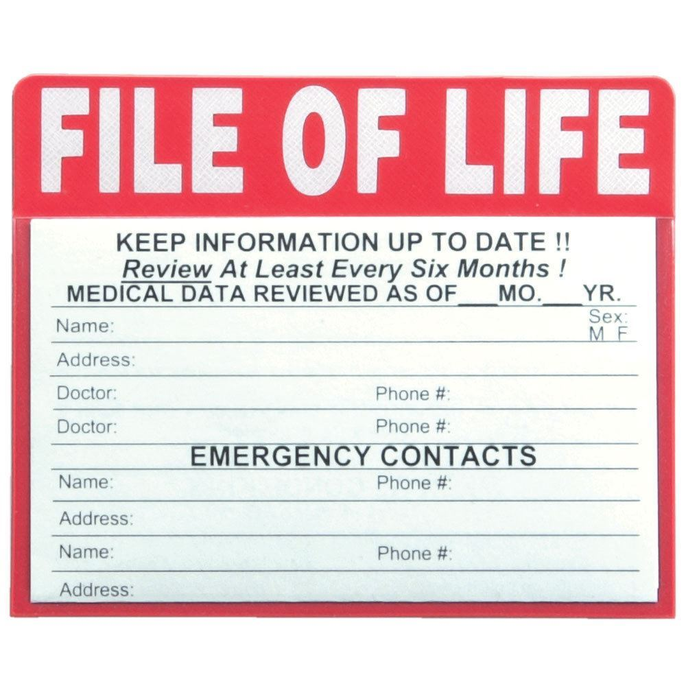 File Of Life Magnet | Positive Promotions