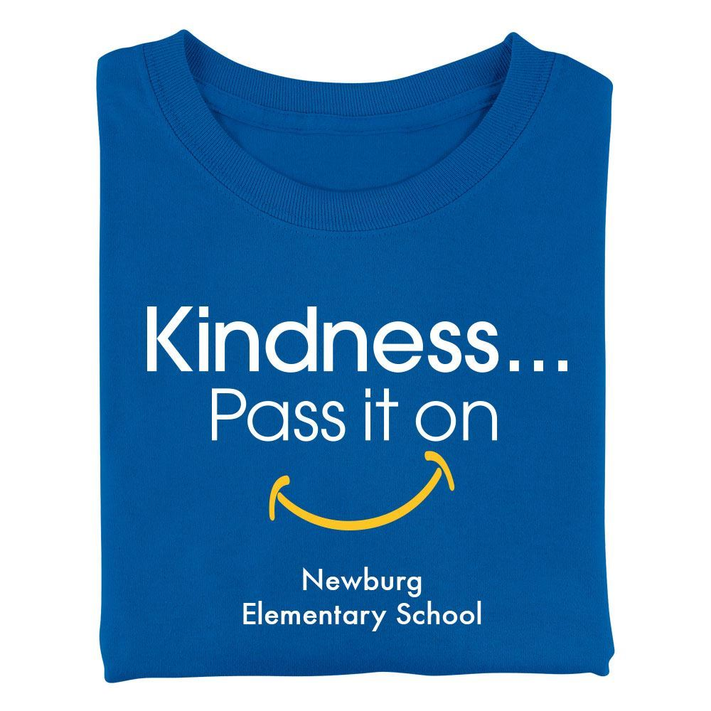 Kindness Pass It On Youth Positive T-Shirt - Personalized