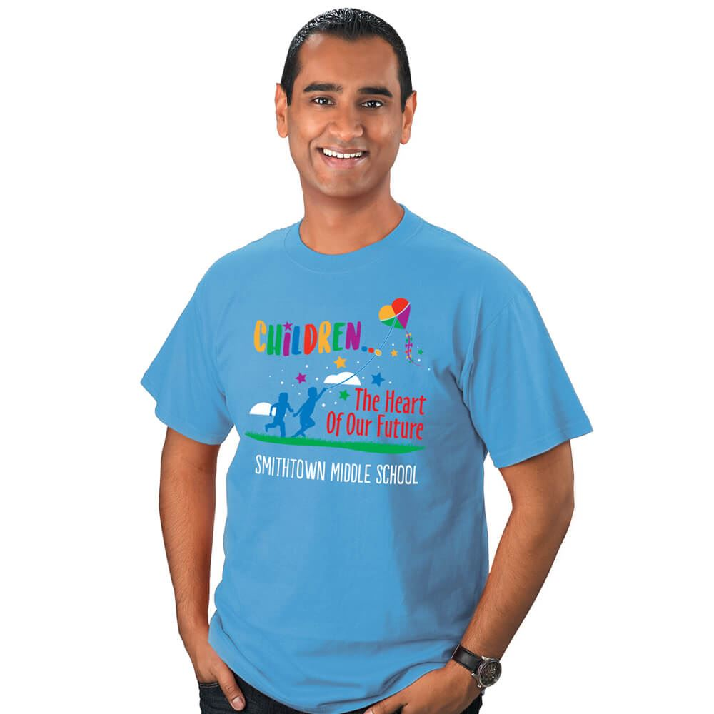 Children: The Heart of Our Future Adult T-Shirt - Personalization Available
