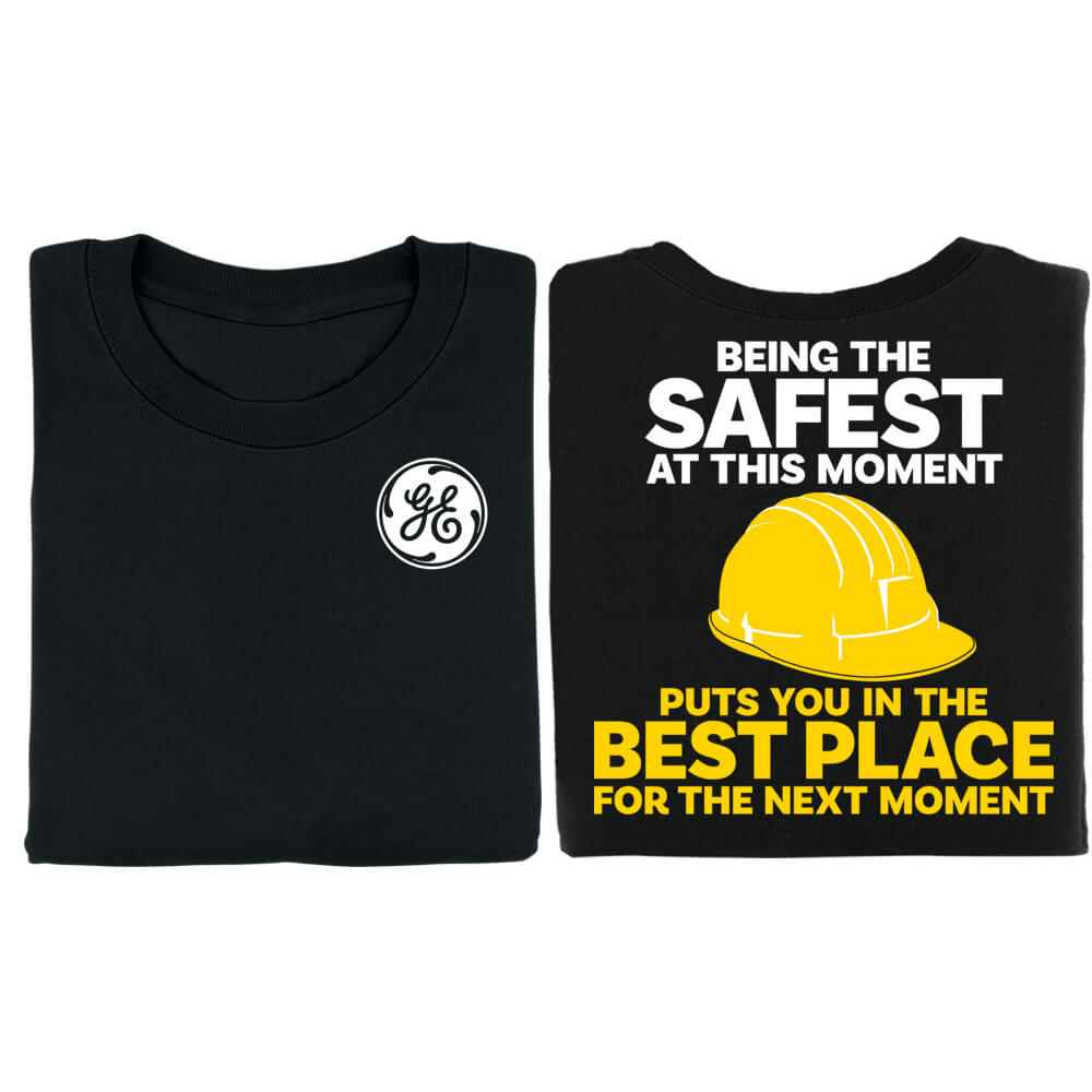 Being The Safest At This Moment Bragging Rights 2-Sided Short Sleeve T-Shirt - Personalized