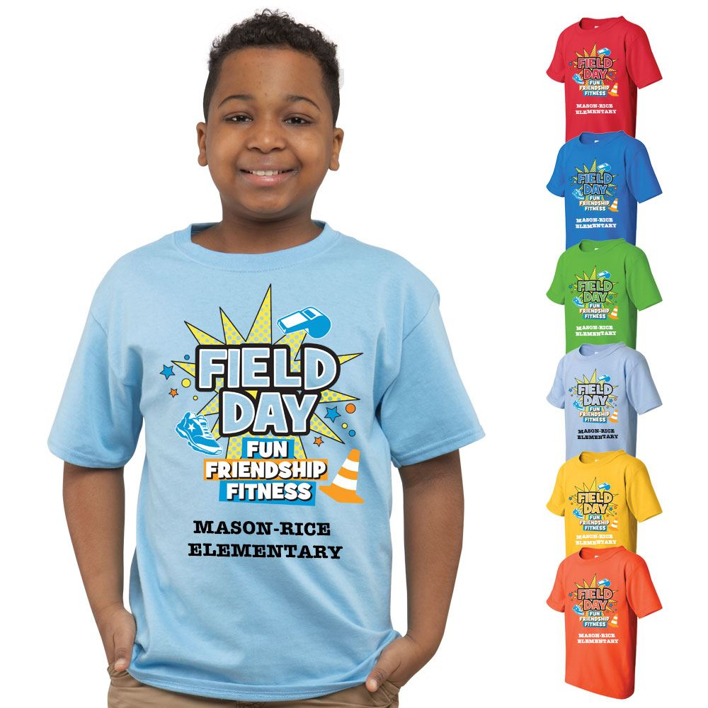 Field Day 2017 Youth Full Color T Shirt 4 Great Designs