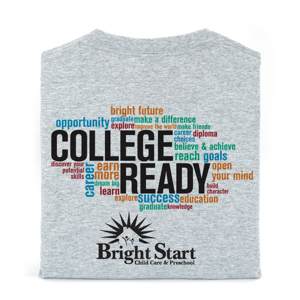 College Ready Youth T-Shirt With Personalization