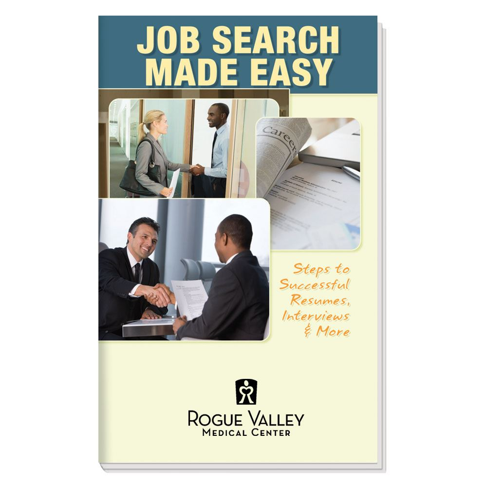 Job Search Made Easy Handbook - Personalization Available
