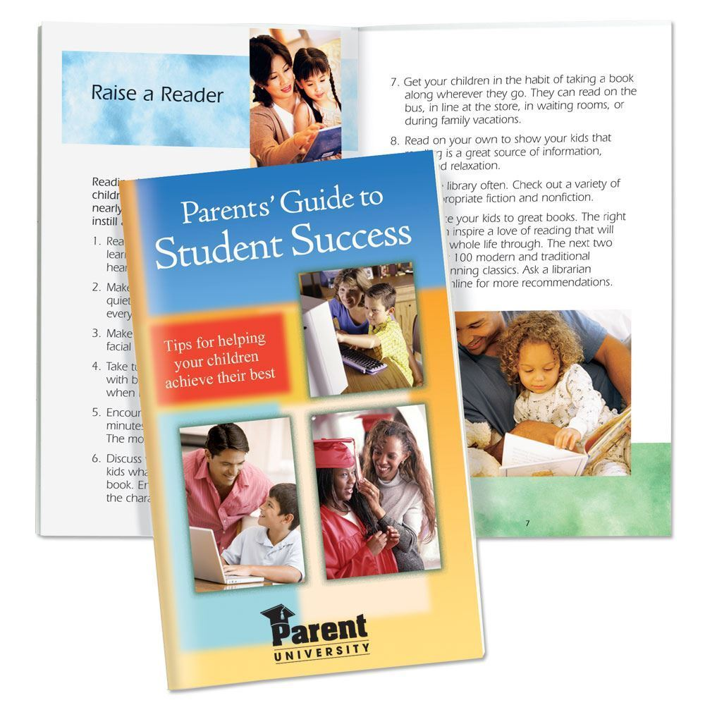 Parent's Guide To Student Success Bilingual Handbook - Personalization Available
