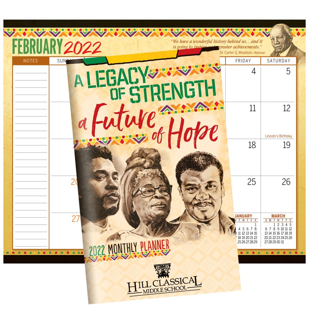 A Legacy of Strength, A Future of Hope 2020 Monthly Planner - Personalization Available