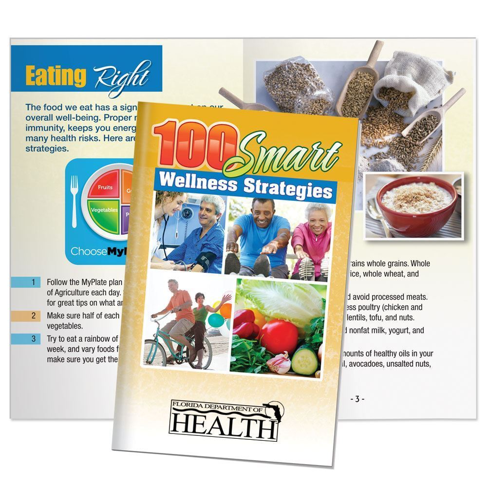 100 Smart Wellness Strategies Handbook - Personalization Available