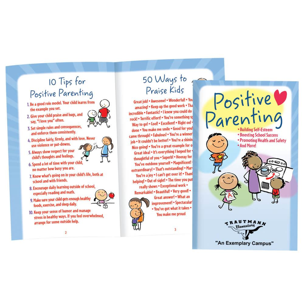 Positive Parenting English/Spanish Flipbook - Personalization Available