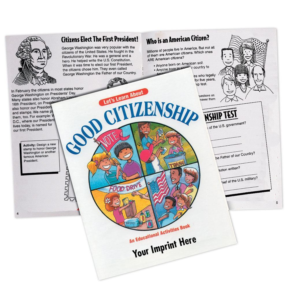 Let 39 S Learn About Good Citizenship Activities Book