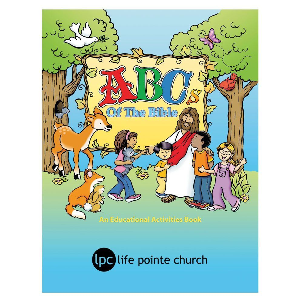 ABCs Of The Bible Educational Activities Book - Personalization Available