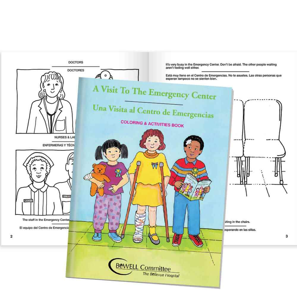 A Visit To The Emergency Center (People Edition) Bilingual - Personalization Available