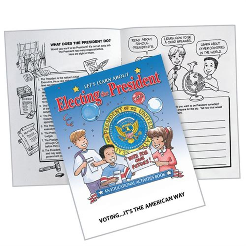 Let's Learn About Electing The President Educational Activities Book - 25 Per Pack