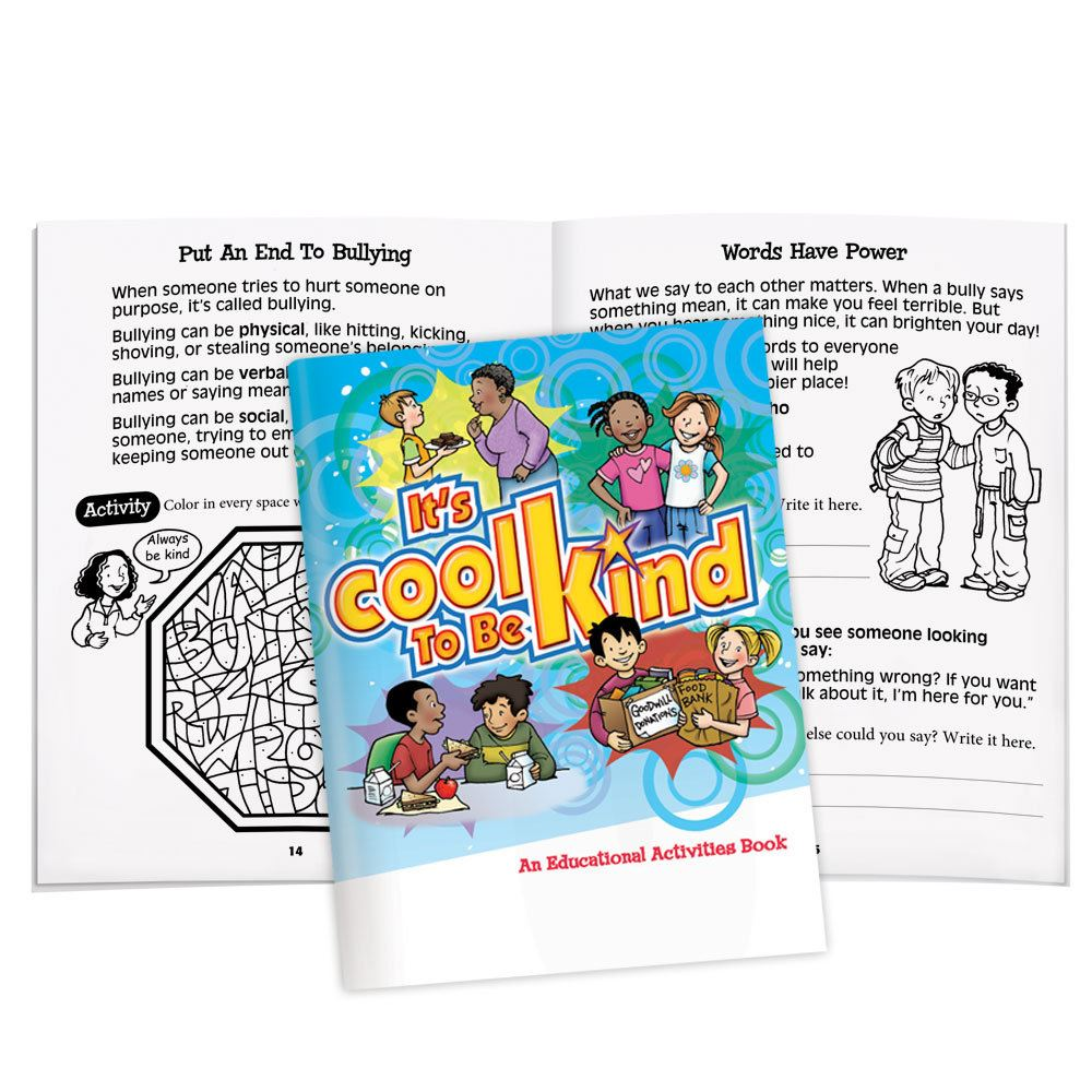 It's Cool To Be Kind Educational Activities Book (50 Pack)