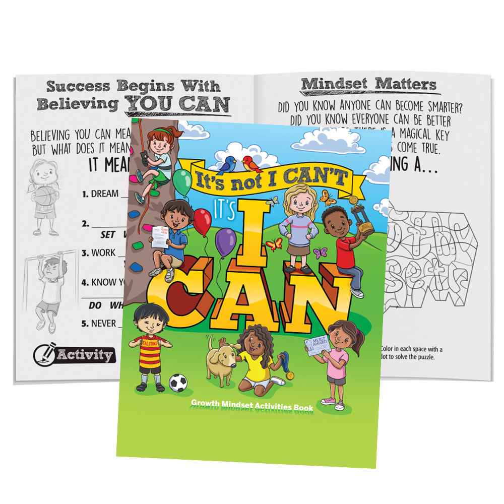 It's Not I Can't, It's I Can Educational Activities Book - Pack of 50