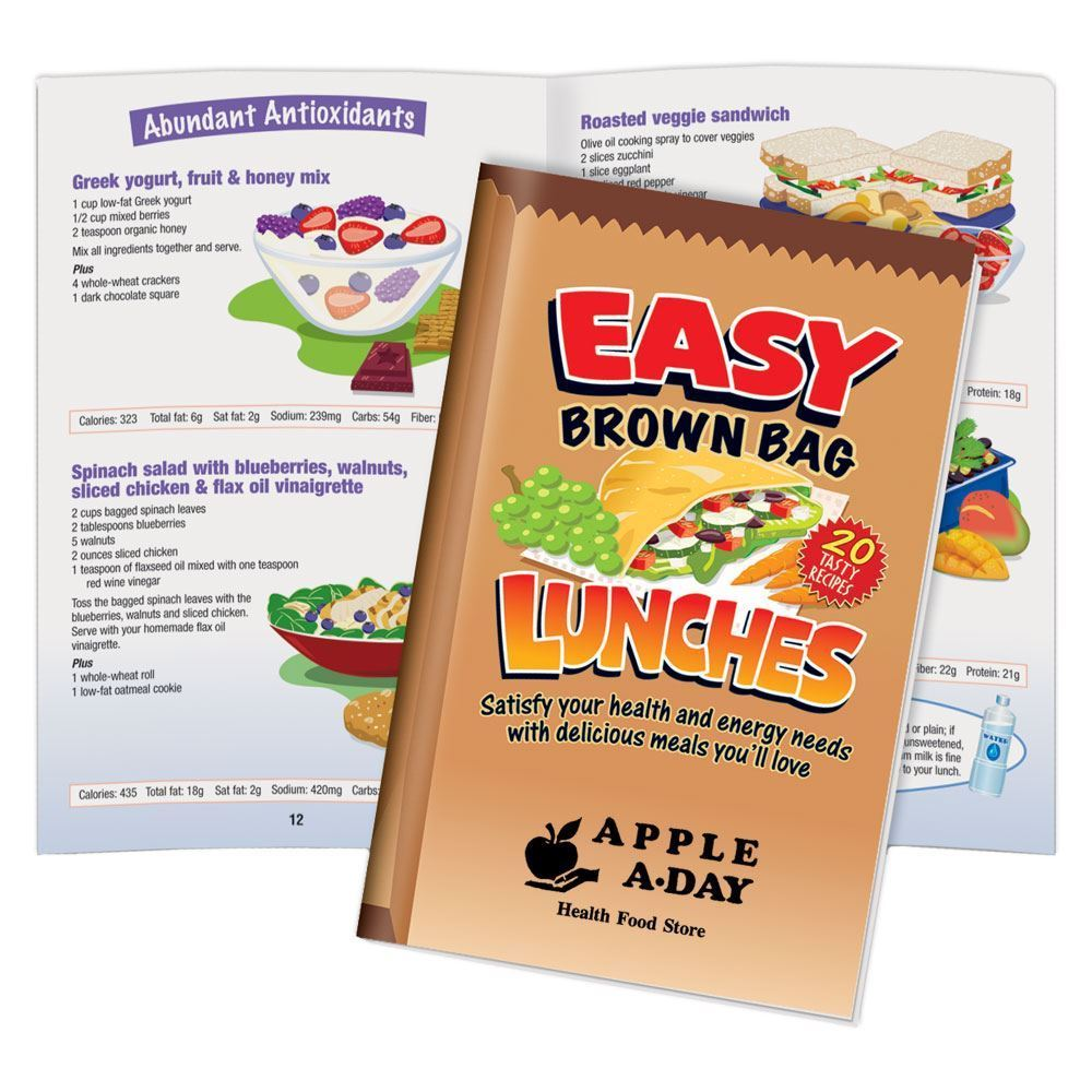 Easy Brown Bag Lunches Guide - Personalization Available