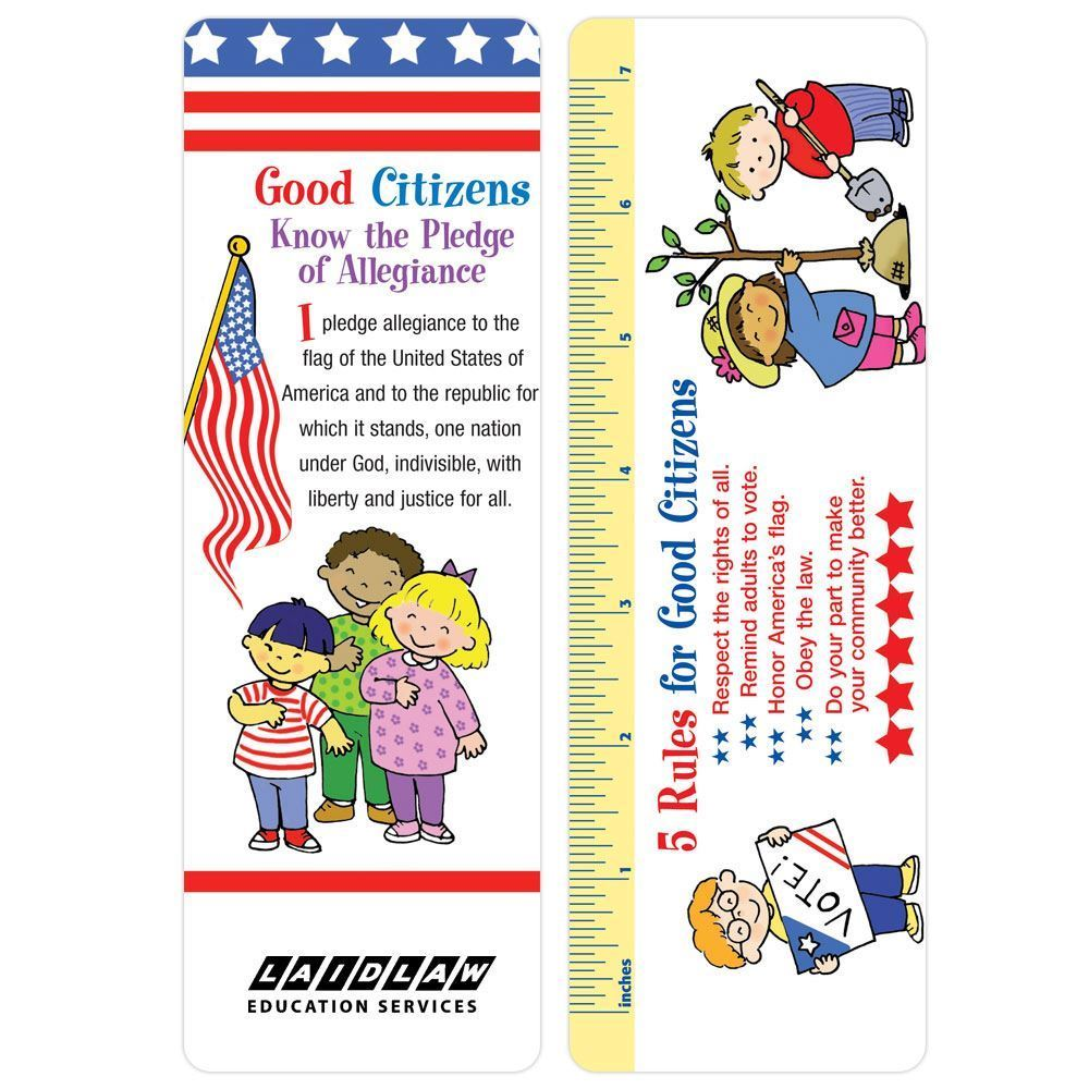Good Citizens Bookmark - Personalization Available