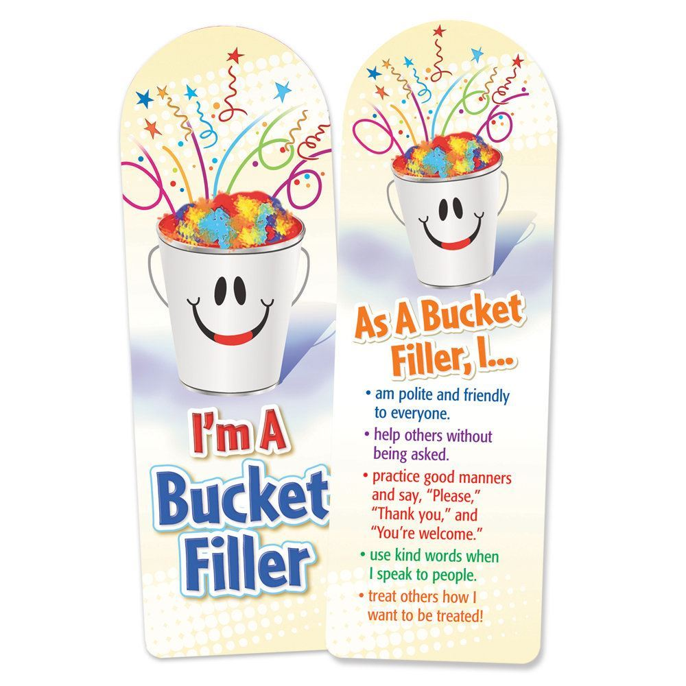 I\'m A Bucket Filler Bookmark | Positive Promotions