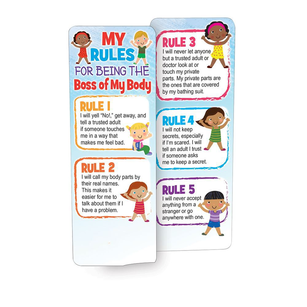 My Rules For Being The Boss Of My Body Bookmark - Personalization Available