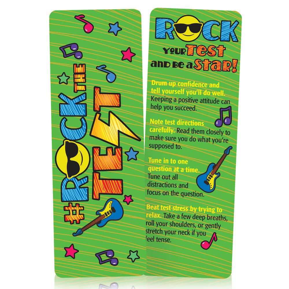 #RockTheTest Bookmarks - Pack of 25