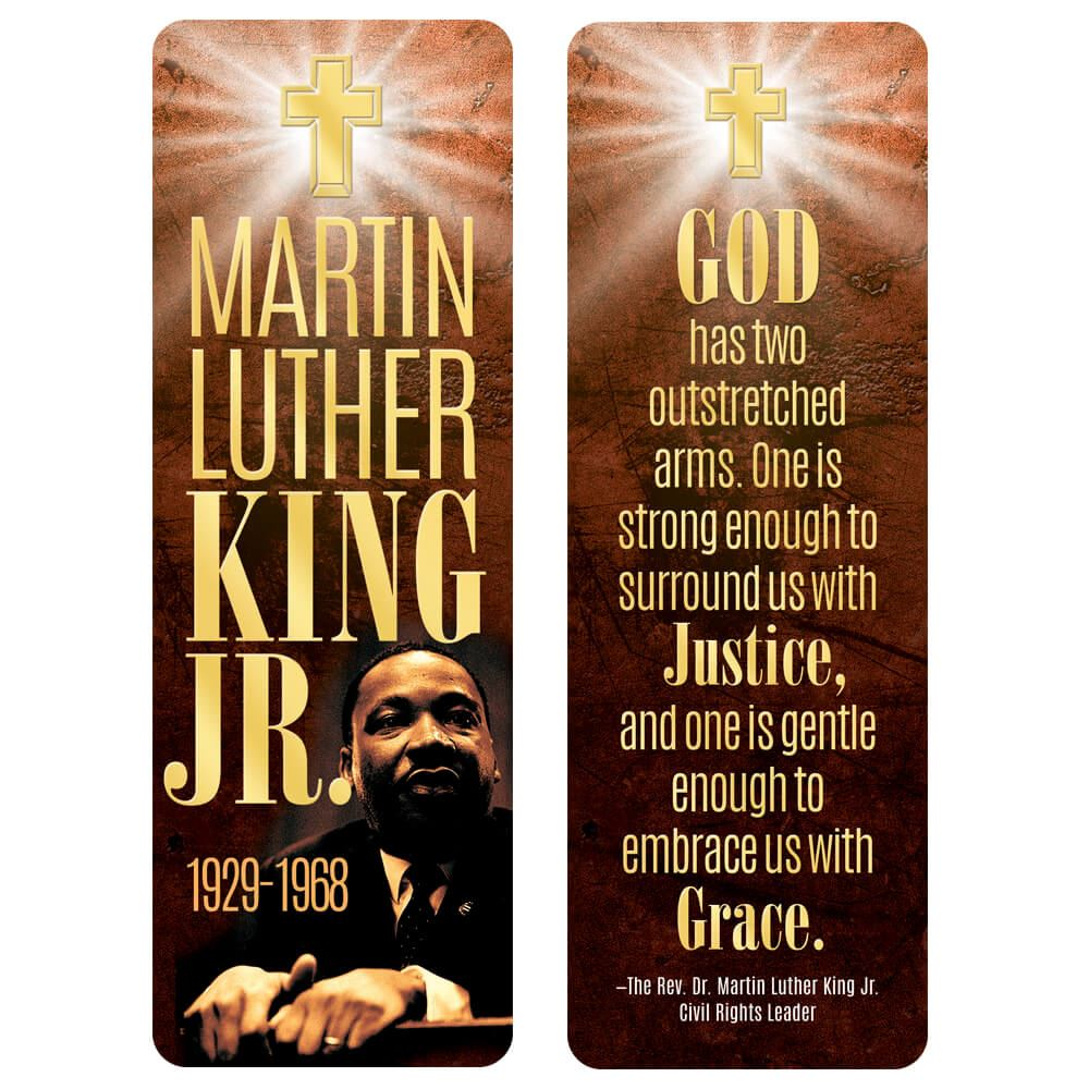 Martin Luther King Jr. Religious Theme Bible Marker