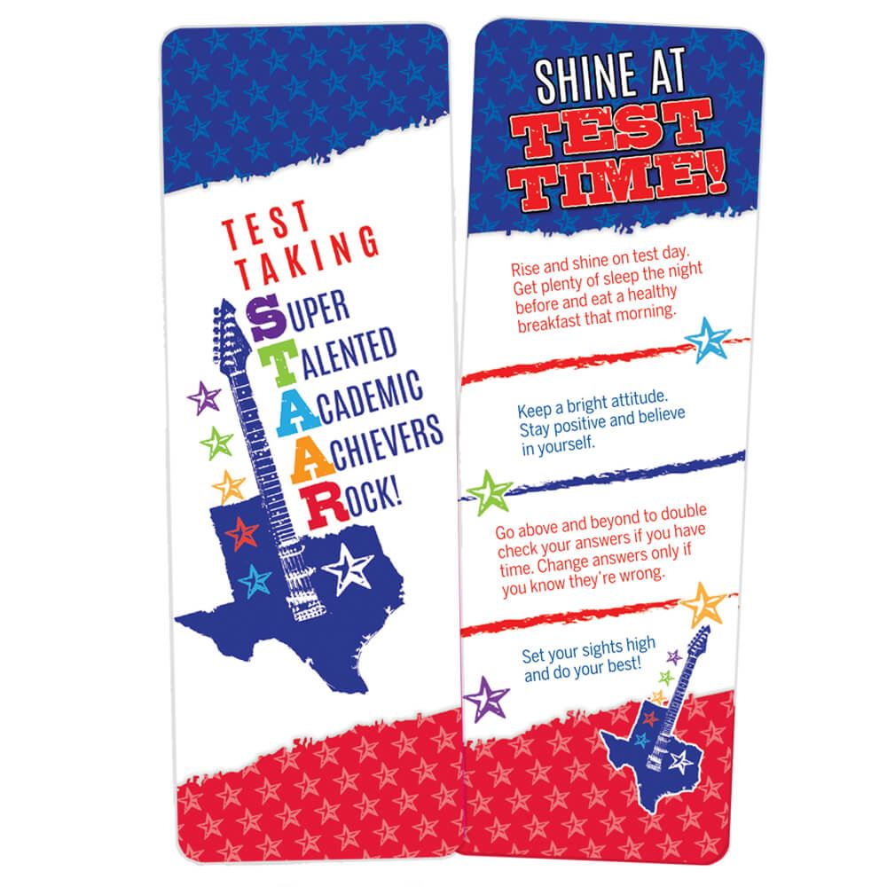 Test Taking STAAR Bookmarks - Pack of 25