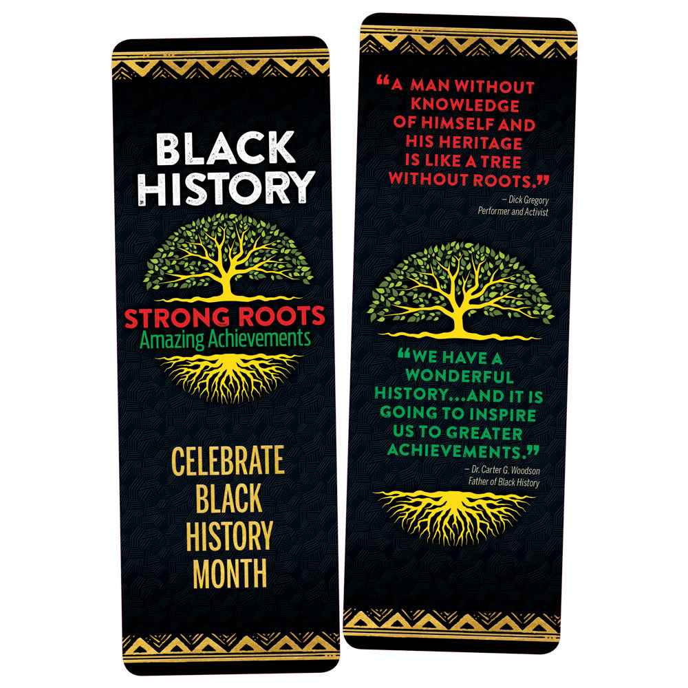 Black History: Strong Roots, Amazing Achievements Bookmark